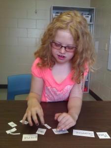 Sophie - Intervention préventive en lecture-écriture 2